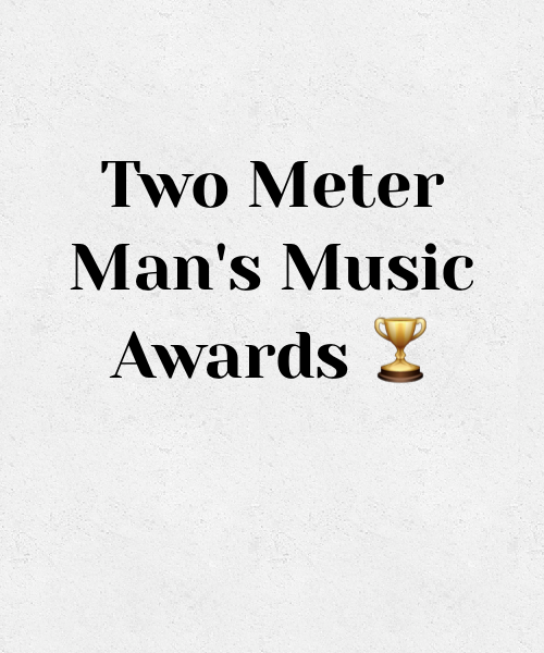 Two Meter Man music awards 2